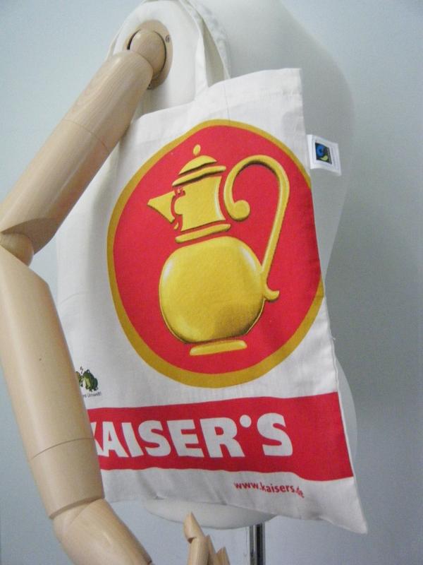 ドイツのスーパーマーケットKAISER`Sのトートバッグ