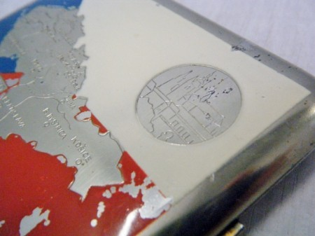 チェコスロバキア製 シガレットケース (1960~1970)