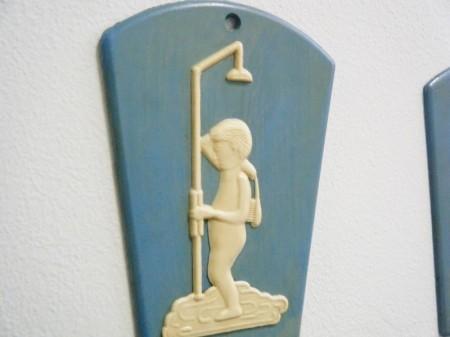 チェコ ドアサインセット(トイレット&バスルーム)