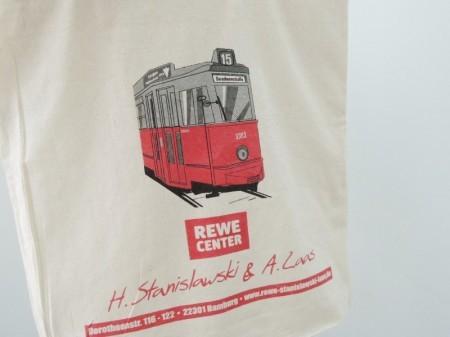 ドイツ REWEトートバッグ ベルリン交通