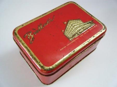 旧西ドイツ時代のヴィンテージ菓子缶 ベルリンA