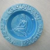 デンマーク Carlsberg灰皿 マーメイド