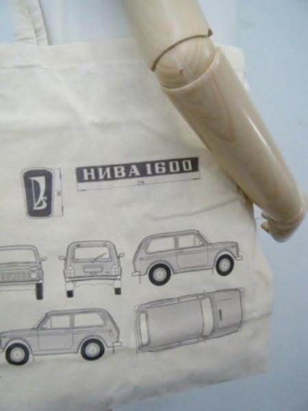 Lada Niva トートバッグ