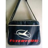 展示現品アウトレット価格エアーラインバッグ(旧東ドイツ航空 INTERFLUG)