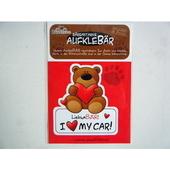 ドイツカーステッカー熊 (この車を愛してる)