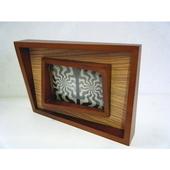 木製フォトフレーム (立体)