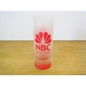 アメリカNBCテレビ ロゴ入りグラス(ベース)