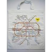 ドイツ ベルリン地下鉄路線図  トートバッグ
