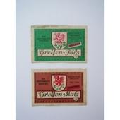 DDR旧東ドイツのビールラベルA(2枚セット)