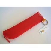 スペインRASペンケース Sサイズ 赤