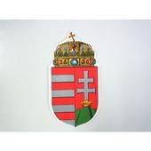 ハンガリー 紙製ステッカー ハンガリー王国時代の国章